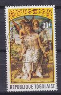 Togo 1980 Mi. 1444 A     30 Fr. Ostern Easter Christus Mit Engeln (Mantegna) DELUXE Cancel !! - Togo (1960-...)