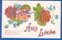 Blumen; Fleurs; Stempel Labenz Hamburg - Blumen