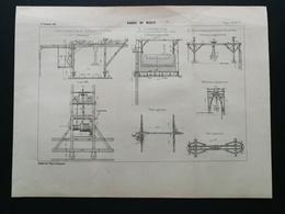 ANNALES DES PONTS Et CHAUSSEES (Dep 10) - Vaiduc De Mussy - 1901 (CLE91) - Public Works