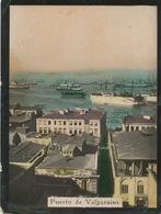 Puerto De Valparaiso  Pequena Imagen Propaganda  Cigaros Cubanos Susini Tamano 5/6,5 Cms - Chili
