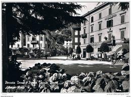 PORRETTA  TERME (BO):  ALBERGO  ROMA  -  PIAZZA  VITTORIO  VENETO  -  FOTO  -  FG - Alberghi & Ristoranti