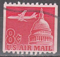 UNITED STATES       SCOTT NO. C65       USED        YEAR  1962 - Air Mail