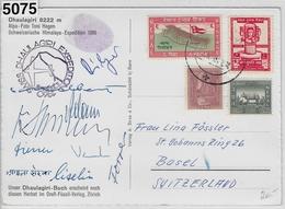 1960 Swiss Himalaya Dhaulagiri Expedition Nepal - Escalada