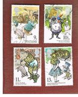GRAN BRETAGNA (UNITED KINGDOM) -  SG 1091.1094 -  1979 INT. YEAR OF CHILD (COMPLET SET OF 4)- USED - 1952-.... (Elisabetta II)