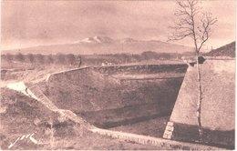 FR66 PERPIGNAN - Jové 811 - Les Fossés De La Citadelle - Au Fond Le Canigou - Animée - Belle - Perpignan