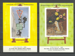 BELGIUM 1969 Nellens And Permeke Paintings MNH** E 109/110 - Arts