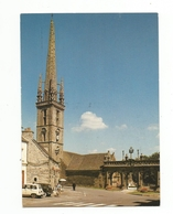 SIZUN-clocher Et Arc De Triomphe  Renault 4L - Sizun