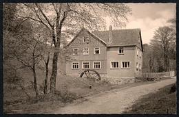 C4654 - TOP Frauenwald Am Rennsteig - HO Gaststätte Fraubachmühle Mühle Wassermühle - Straub & Fischer - Ilmenau