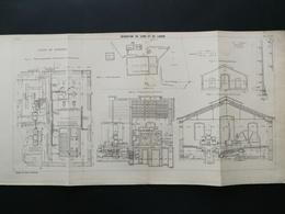 ANNALES DES PONTS Et CHAUSSEES (DEP 77) - Dérivation Du Loing Et Du Lunain - 1905 (CLE95) - Zeekaarten