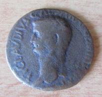 Monnaie Peu Commune - As De Claudius (41-54) Avec Minerve Debout Tenant Un Bouclier Et Une Javeline - 1. The Julio-Claudians (27 BC To 69 AD)