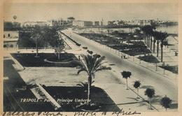 Tripoli Parco Principe Umberto Edit Haggiag Judaica  Used 1934 To Villa Des Palmiers Nice Beatriz Nieborg - Libya