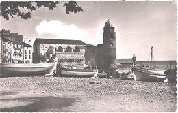 FR66 COLLIOURE - L'hoste 25 - L'église - Bateaux De Pêche - Belle - Collioure