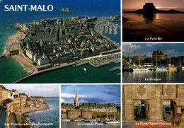 SAINT MALO - MULTI VUE DE SES SITES TOURISTIQUES - Saint Malo