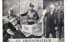"""Frankreich, Politische Satire, """"Le Triomphateur"""", Um 1900/05 - Satirische"""