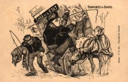 Frankreich, Politische Satire, Char De L'Etat - Changement De Cocher - Satirische