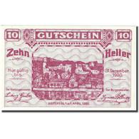 Billet, Autriche, Weitenegg An Der Donau, 10Heller Château 1920 SPL Mehl:FS1163a - Autriche