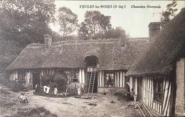 Carte Postale - Veules-les-Roses -  Chaumière Normande - Blondel-Collé - Veules Les Roses