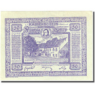 Billet, Autriche, Hinterbrühl, 50 Heller, Ferme 1920-07-31, SPL Mehl:FS 376Ib1 - Autriche