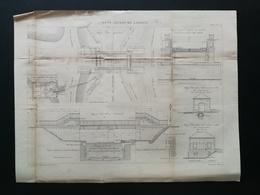 ANNALES DES PONTS Et CHAUSSEES (DEP 21) - Pont Levant De Larrey - 1893 - Macquet (CLE98) - Public Works