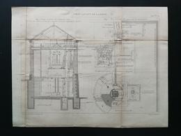 ANNALES DES PONTS Et CHAUSSEES (DEP 21) - Pont Levant De Larrey - 1893 - Macquet (CLE100) - Travaux Publics