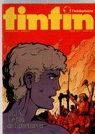 Tintin L'hebdoptimiste N°87 Spécial Grand Prix Automobile - Poster De Emerson Fittipaldi - Comanche - Doré à Point 1974 - Tintin