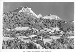 VILLARS →vue Générale Et Les Diablerets Anno 1955 - VS Valais