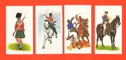 Napoleone 4 Figurine Vignettes Stickers Dragoons Prussian Infntery John Player & Sons Uniforms Soldiers - Militari