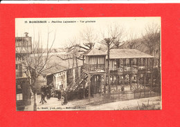 92 ROBINSON Cpa Animée Pavillon Lafontaine Vue Générale  23 Baslé - Le Plessis Robinson