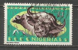 NIGERIA BUFALOS YVERT NUM. 190 USADO - Nigeria (1961-...)