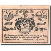Billet, Autriche, Steegen, 10 Heller, Blason 1920-04-11 SPL Mehl:FS 1012Ic1 - Autriche