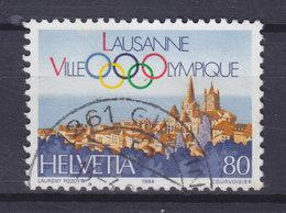 Switzerland 1984 Mi. 1269     80c. Internationalen Olympischen Komitee In Lausanne Olympischen Ringe - Schweiz