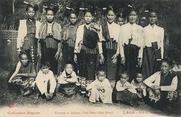 Femmes Et Enfants Thai Neua ( Hua Pahn ) Laos Raquez Serie A No 12 - Laos