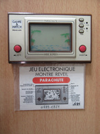 Game & Watch Nintendo - Jeu-vidéo Parachute (1981) Avec Notice J.I21 - Etat De Marche - Piles Fournies - Consoles De Jeux
