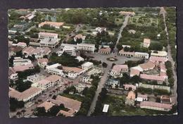 CPSM REPUBLIQUE CENTRAFRICAINE - BANGUI - Vue Aérienne Du Centre De La Ville - TB PLAN Avec Détails Edifices - Centraal-Afrikaanse Republiek