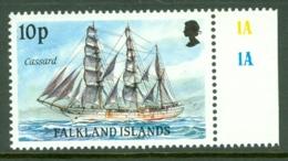Falkland Is: 1989/90   Cape Horn Sailing Ships  SG576    10p    MNH - Falkland Islands