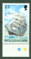 Falkland Is: 1989/90   Cape Horn Sailing Ships  SG581    £3    MNH - Falkland Islands