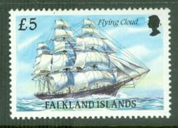 Falkland Is: 1989/90   Cape Horn Sailing Ships  SG582    £5    MNH - Falkland Islands