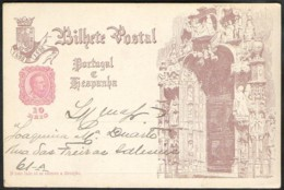 PORTUGAL 1898 Postal Stationery Mi. P 45 Vasco Da Gama 400 Jahre Seeweg Nach OstIndien - Entiers Postaux