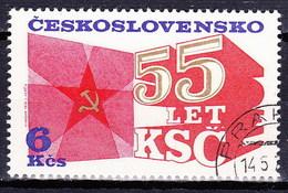 Tchécoslovaquie 1976 Mi 2323 (Yv BF 38-timbre), Obliteré - Tchécoslovaquie