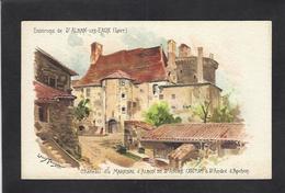 CPA Tauzin Louis Non Circulé Loire Saint Alban Les Eaux - Illustrateurs & Photographes