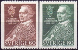 ZWEDEN 1966 N.Söderblom PF-MNH - Schweden