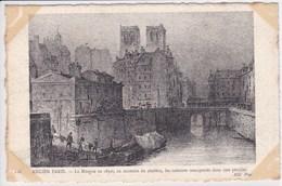 75 PARIS La Morgue En 1830 , Au Moment Du Choléra , Vue Sur Notre Dame - Arrondissement: 04