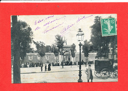 78 VERSAILLES Cpa Animée Lycée Hoche   Edit Morne - Versailles