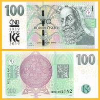 Czech Republic 100 Korun P-new 2018 / 2019 Commemorative UNC Banknote - Tchéquie