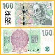 Czech Republic 100 Korun P-new 2018 / 2019 Commemorative UNC Banknote - Czech Republic