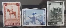 BELGIE  1954    Nr. 938 - 940    Licht Spoor Van Scharnier *   CW 33,50 - Belgique