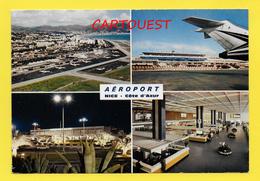 Flughafen ֎ AIRPORT ֎ AEROPORT ֎  Aérogare NICE ֎ ANCIEN En 1979 ֎ - Aeródromos
