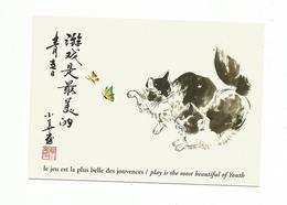 Carte Fantaisie CHAT CHATS ** CAT CATS ** KAT KATTEN KATZE - Chats