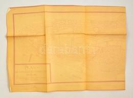1952 Horler Ferenc által Rajzolt és Másolt Budavár Térkép és Helyszínrajz. Plan De La Cille Et Chateau De Bude 1637  110 - Cartes
