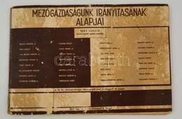 1941 Mezőgazdaságunk Irányításának Alapjai. Szerk.: Beke László. Bp., Magyar Királyi Földművelésügyi Minisztérium. III.  - Cartes